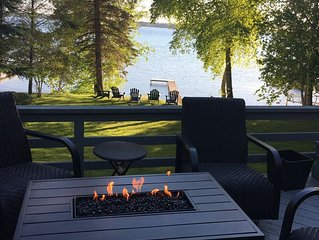 Torch Lake Family Friendly Waterfront Home ~ Includes Kayaks!