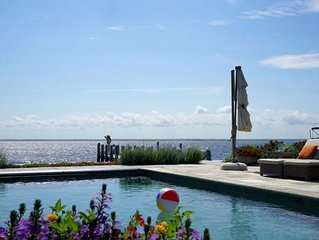 Bayfront, 6 Bedroom Family Friendly In-ground Pool, Private Compound Paradise