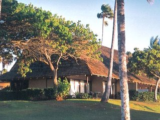 Closest Oceanfront Cottage on Kepuhi Beach, Molokai- $Discount