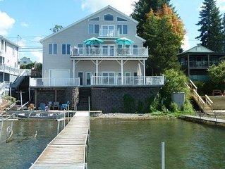 Gorgeous 6 Bedroom, 3 Bath Lake Home on Keuka Lake