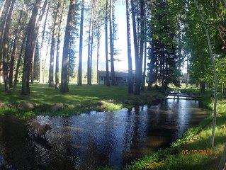 Camp Sherman  streamside get away