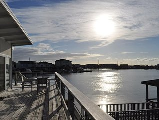 Best views on the island! Newly renovated 3 bedroom cottage with boat dock.