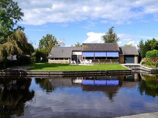 Modern, Spacious, Free Standing, Water Front Villa.