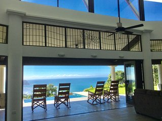 2016  Construction Villa / Higher Elevation/180 Degree Beach/Ocean/Jungle  View
