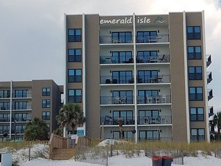Okaloosa Island, the perfect getaway,  steps from the pool and beach.