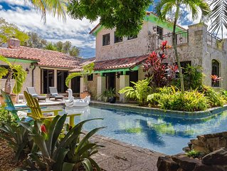 Tropical Stone Cottage in the Magic City.