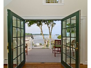 Booming Views Of Camden Harbor, Deluxe Water View Town House With Top Amenities