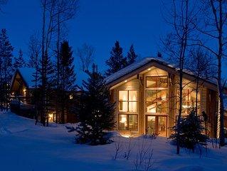 Closest toTram, & Ski-in Ski-out Convenience! 6 bedrooms +sleeping loft, 5 baths