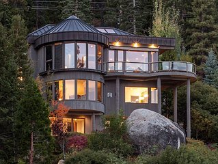 Luxurious Home on Lake Tahoe with Incredible Views and Lake Access!