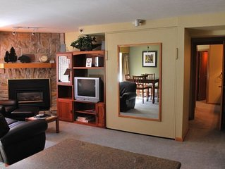 Ski-in Ski-Out Iron Horse 2 BR/2 BA King,Queen & 2 Single Beds
