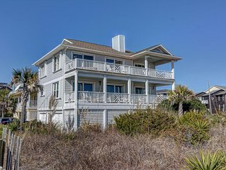 Perfectly Located Ocean Front Home. 4 Bedroom - 3 1/2 Bath.