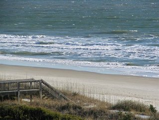 Great Oceanfront Condo 3BR/3.75 BA; Ask about off season specials