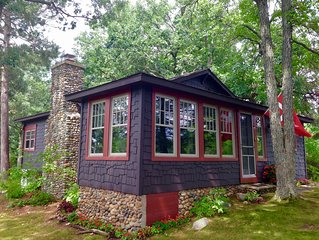 Walk back in Time: A 1917 Lake Cottage