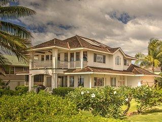 Elegant Malibu Style Beach House on Kauai's Sunny West Side  - TVNCU #5162