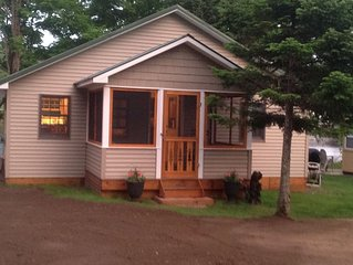 Lakewood Haven -a newly renovated Adirondack cottage.