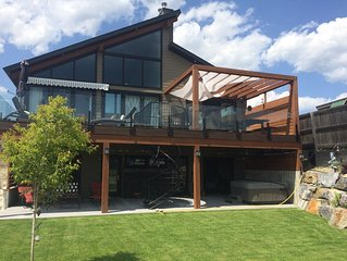 This Is 5 Star...Lake Koocanusa Style! -Waterfront+Dock+MountainView (new home)