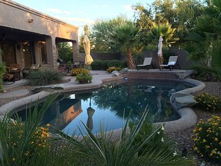 Luxury Custom Home Near Superstition Springs Golf Course w/Heated Pool