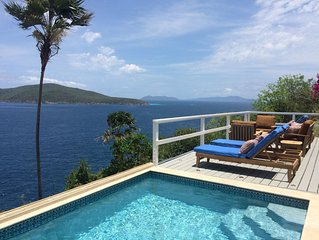 Secluded Five-Star Oceanfront Escape with Private Pool and Panoramic Views
