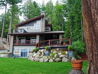 Lake Whatcom Water Front/3 Acres/Kayak/Boards/Wood Fireplace