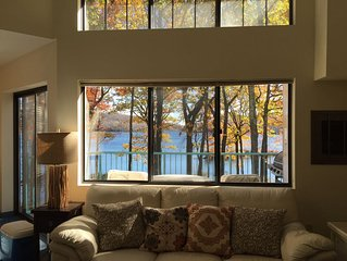 Penthouse Condo - Lakefront....located at entrance to Big Boulder ski slope