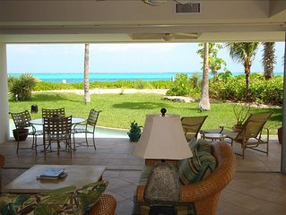 Oceanfront Luxury Condo on Grace Bay's Best Snorkeling Reef