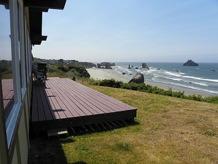 Breathtaking view of Bandon Beach
