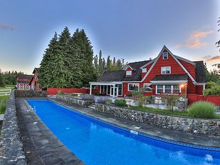 Animal Sanctuary, Horses, Pool, Spa, Reunions *The Manor at South Bay!