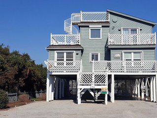 2nd Row 4 Bedroom/3 Bath Home W/ Private Pool And Dock. Sleeps 10