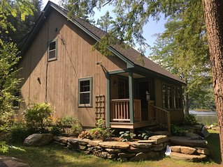 Beautiful Lakefront Home Nestled in the Woods on Cole Pond . Close to Stratton