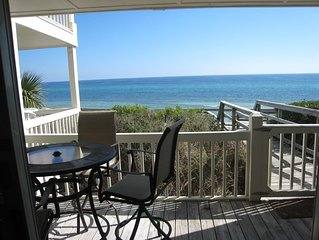GULF FRONT - 1st Floor, Direct Walk Out Beach Access - GREAT VIEWS