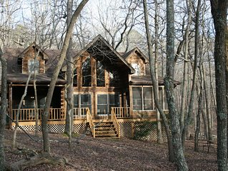 North Ga Mountain Log Cabin Located in Bent Tree Community