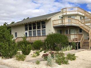 Harvey Cedars 4 Bedroom 2 full bath Ocean Block with Water Views