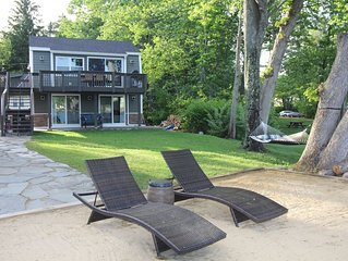 Stunning Lake Winnisquam Waterfront House with Dock