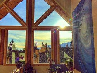 Alaskan Log home