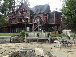 The Ideal Winnipesaukee Lakefront Retreat Right In Meredith Bay