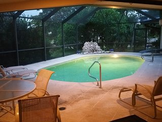 The Silver C's 4BR/4BA Shell Harbor Canal View Home with pool!