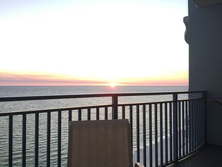 Sterling Breeze 1603 16th Floor Walk to Pier Park Free Beach Chairs service