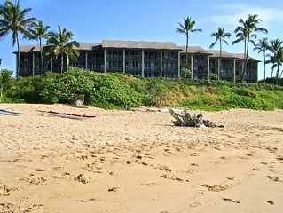 Beautiful Spacious Oceanfront Condo on Wailua Bay