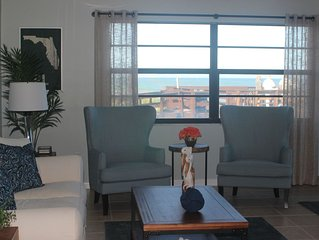 Steps from the Ocean - Beautifully decorated condo with large patio