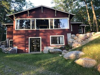 Summer availability! Historic cabin on pristine Lk Katherine, 5 min to Minocqua!