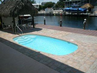 Luxury, Elegant, Water Front Home, Heated Pool, Plantation Key, Islamorada