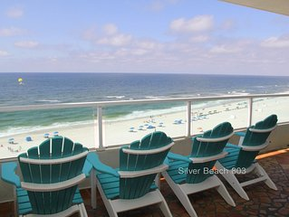 * Silver Beach 803*  Beachfront - Pet Friendly!