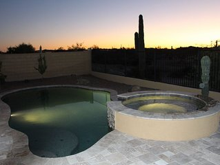 Brand New! Luxurious Resort Style Home Incredible Heated Pool/Spa Desert View!!