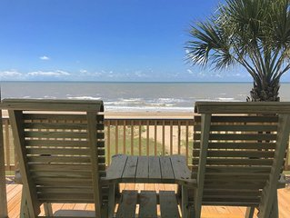 New Beachfront Home! Quiet Location!
