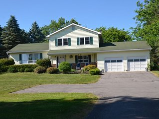 Relax on 2 acres while enjoying all Cooperstown, NY activities.