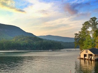 Summer Specials!!! Best Waterfront on Lake Lure. Family Fun!
