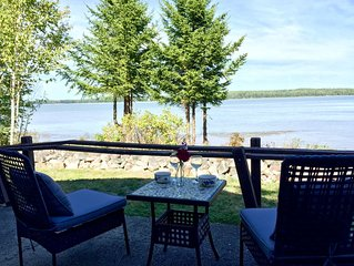 View from the Patio at Sea Smoke Cottage