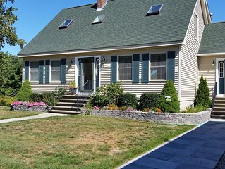 Ocean View and Pet and Family Friendly Home Located One Mile from Town.