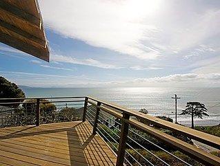 5 Bedroom Bolinas Getaway w/ Unmatched Coastal View