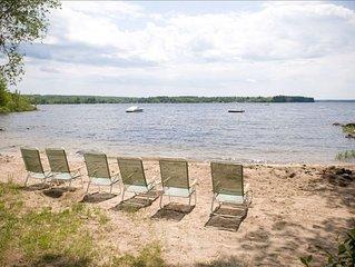 Perfect Sebago Lake Summer Camp & Sandy Beach (Jordan Bay, Raymond, Maine)
